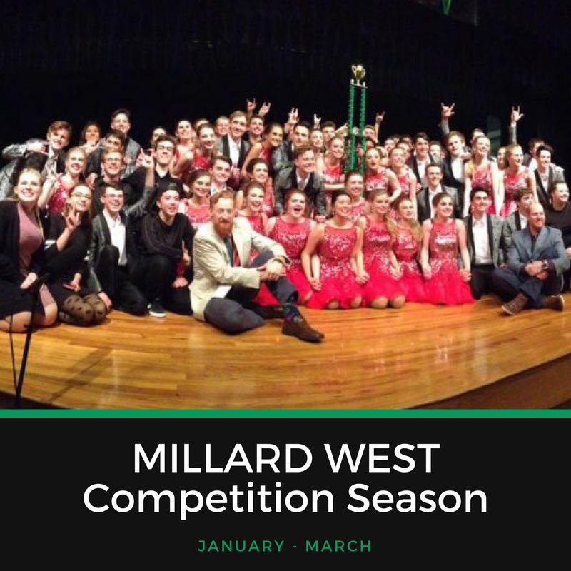 Millard West Competition Season